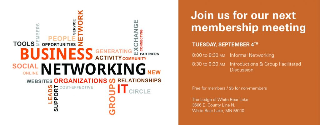 Sept Meeting-networking