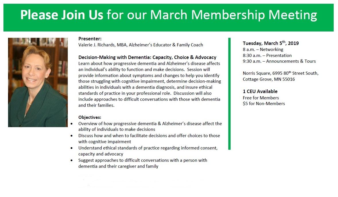 SPSWA March 2019 Membership Meeting